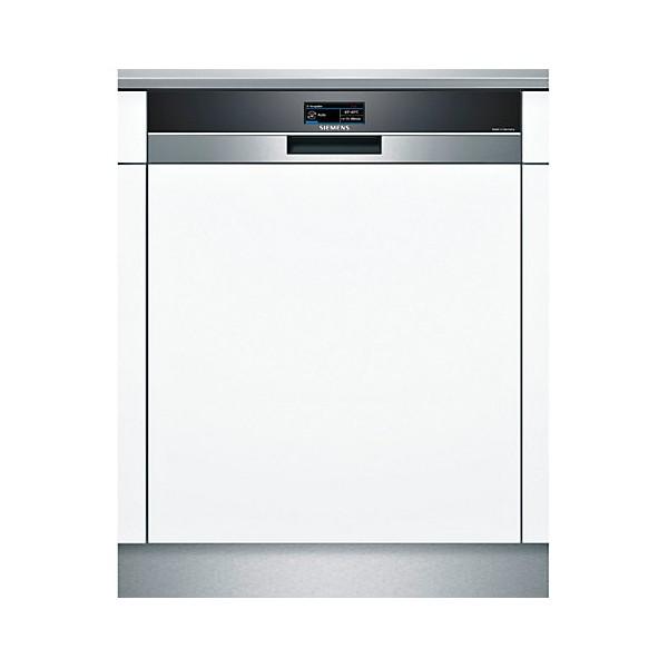 Пример стильной установки частично встраиваемой модели посудомоечной машины