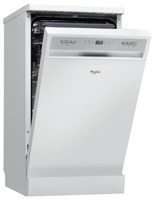 Элегантная посудомоечная машина Whirlpool ADPF 851 WH с таймером и удобной панелью задач