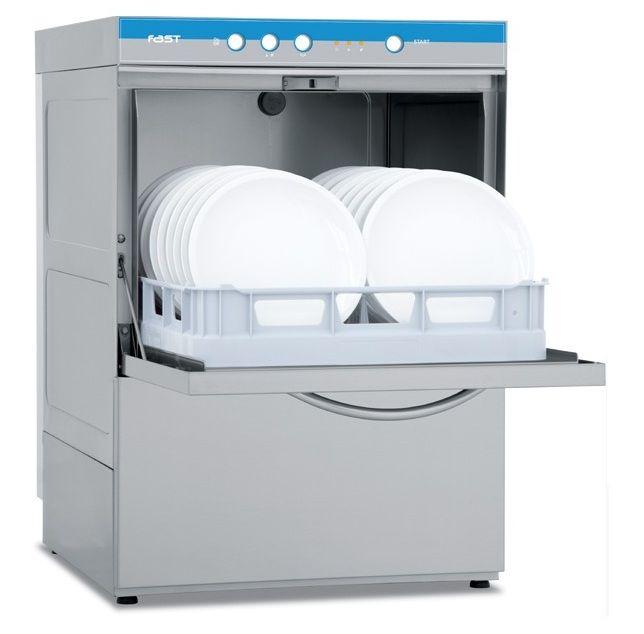 Небольшая промышленная посудомоечная машина для небольших заведений общепита