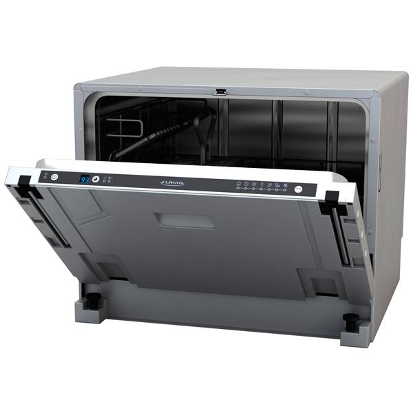 Модель полновстраиваемой компактной посудомоечной машины FlaviaCI 55 HAVANA в кухню любого дизайна