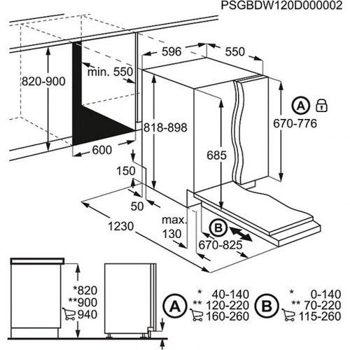 Инструкция по замеру посудомоечной машины Бош и реализации пространства для ее установки