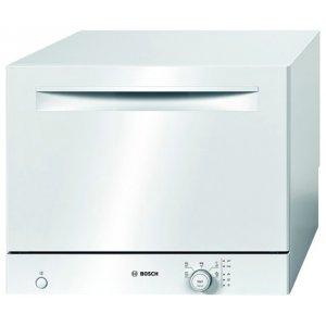Компактная посудомоечная машина фирмы Бош со внешним регулятором на передней панели