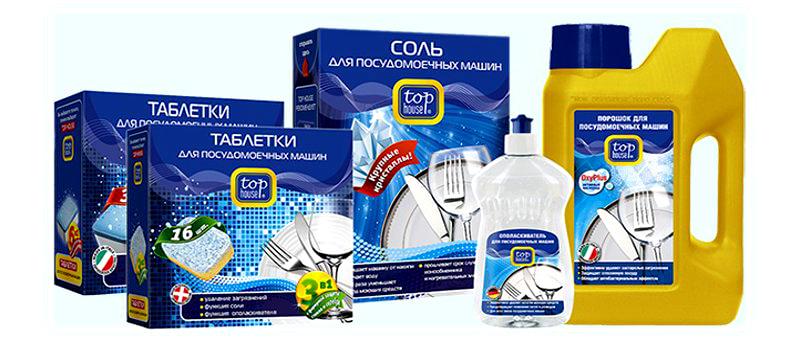 Разнообразие чистящих средств для посудомоечной машины помогут отмыть весь хрусталь