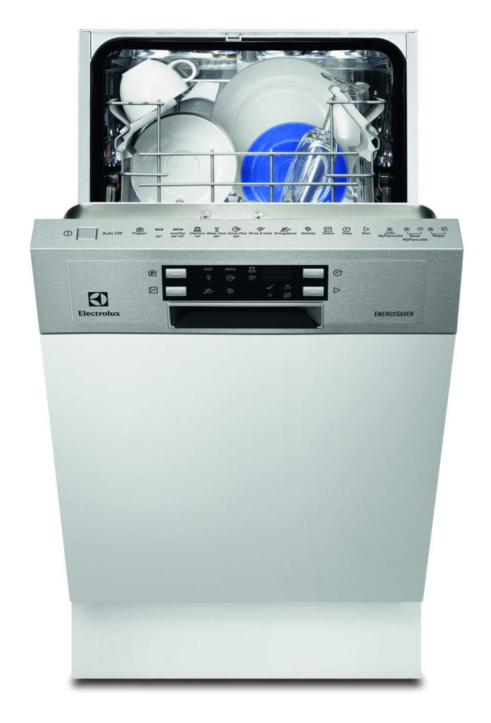Электронная фронтальная панель задач в посудомоечной машине Electrolux ESI 4620 RAX