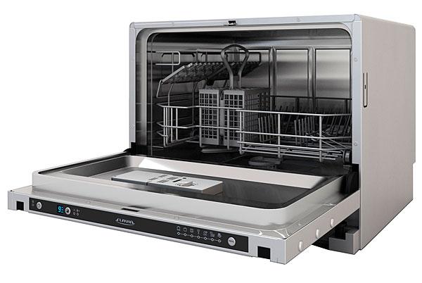 Модель встраиваемой компактной посудомоечной машины CI 55 Havana от компании Флавия