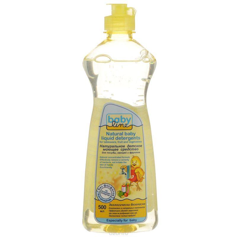 Универсальное моющее средство бейби лайн для мытья детской посуды, овощей и фруктов