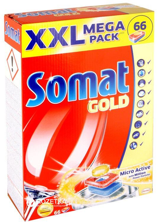 Отзывы о таблетках Somat для посудомоечных машин, обзор