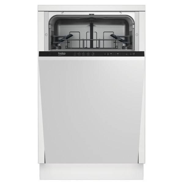 Элегантная встраиваемая посудомоечная машина Beko DIN 26220 для светлой кухни