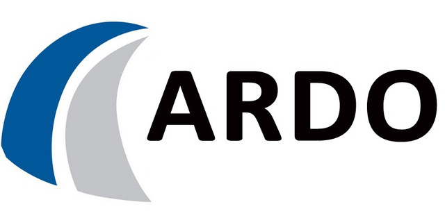 Логотип компании ARDO производящей посудомоечные машины в балансе цены и качества