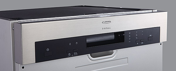 Дизайнерская открытая панель задач у посудомоечной машины Flavia SI 60 ENNA L