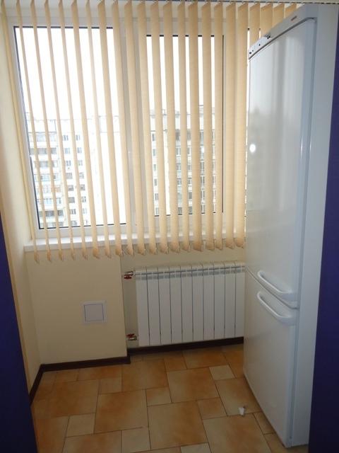 Холодильник на совмещенном балконе