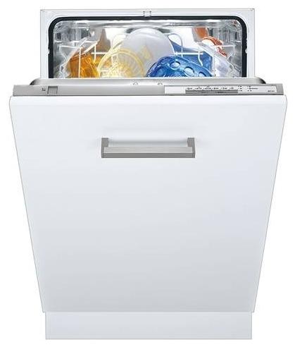 Полноразмерная модель посудомоечной машины Korting KDI 6030 с удобной широкой ручкой на фасаде