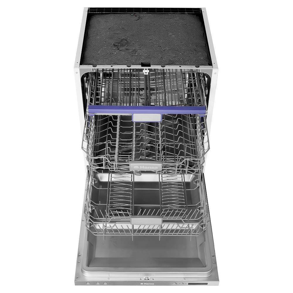 Полновстравиваемая посудомоечная машина для дома с тремя уровнями лотков для посуды