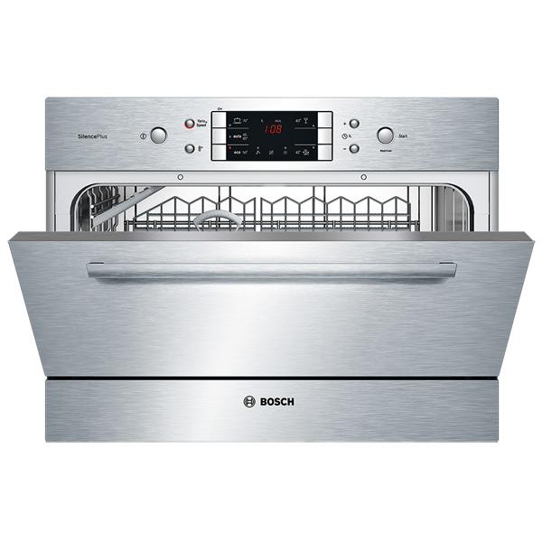 Модель посудомоечной машины Bosch SKE 52M55 для небольшой семьи и маленьких габаритов