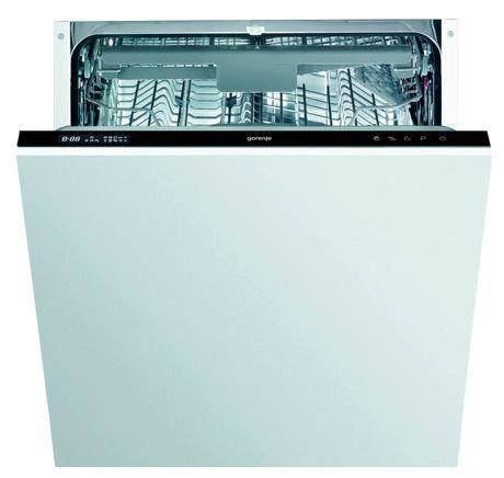Большая полноразмерная вместительная модель посудомоечной машины Gorenje GV 63311