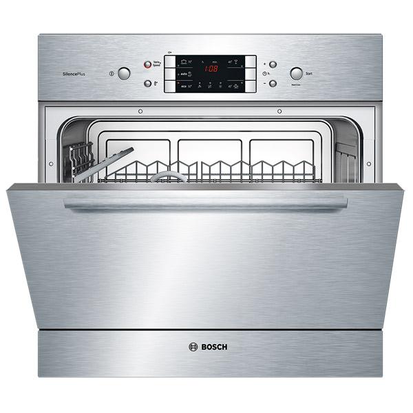 Современная посудомоечная машина BoschSCE 52M55 компактных размеров с выведенным блоком