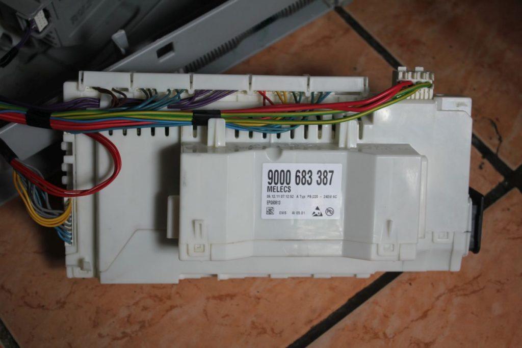 Проверка работоспособности электроэлементов посудомоечной машине, если она не выключается