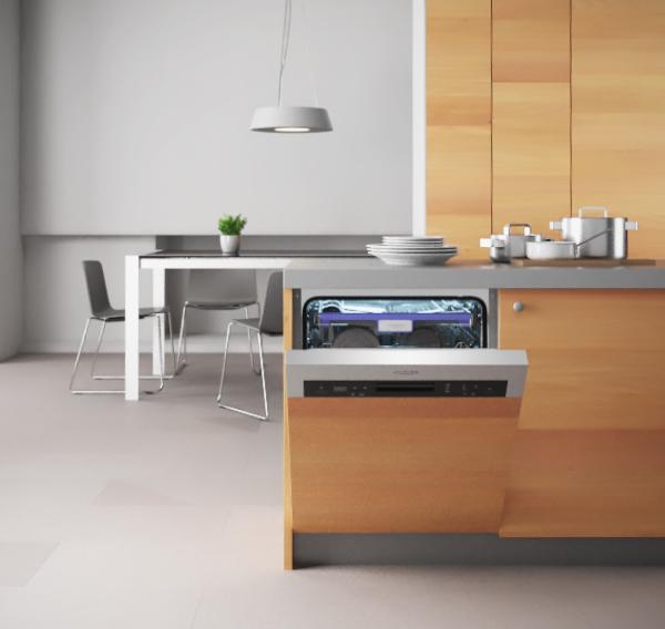 Вариант расположения посудомоечной машины SI 60 ENNA L Флавия на кухне