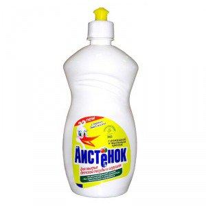 Мощное и безопасное средство Аистенок для мытья детской посуды и игрушек из пластмассы