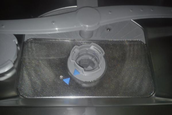 Замена крепления при поломке разбрызгивателя в посудомоечной машине Бош