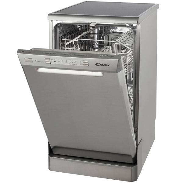 Стильная посудомоющая машина CANDY CDP 4609 с выведенной фронтальной панелью задач