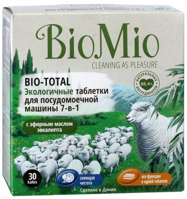 Экологические таблетки для посудомоечной машины Био Мио подходят для мытья детской посуды