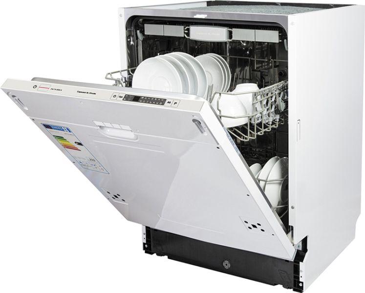 Вариант полновстраиваемой посудомоечной машины для навешивания декоративного фасада при установке