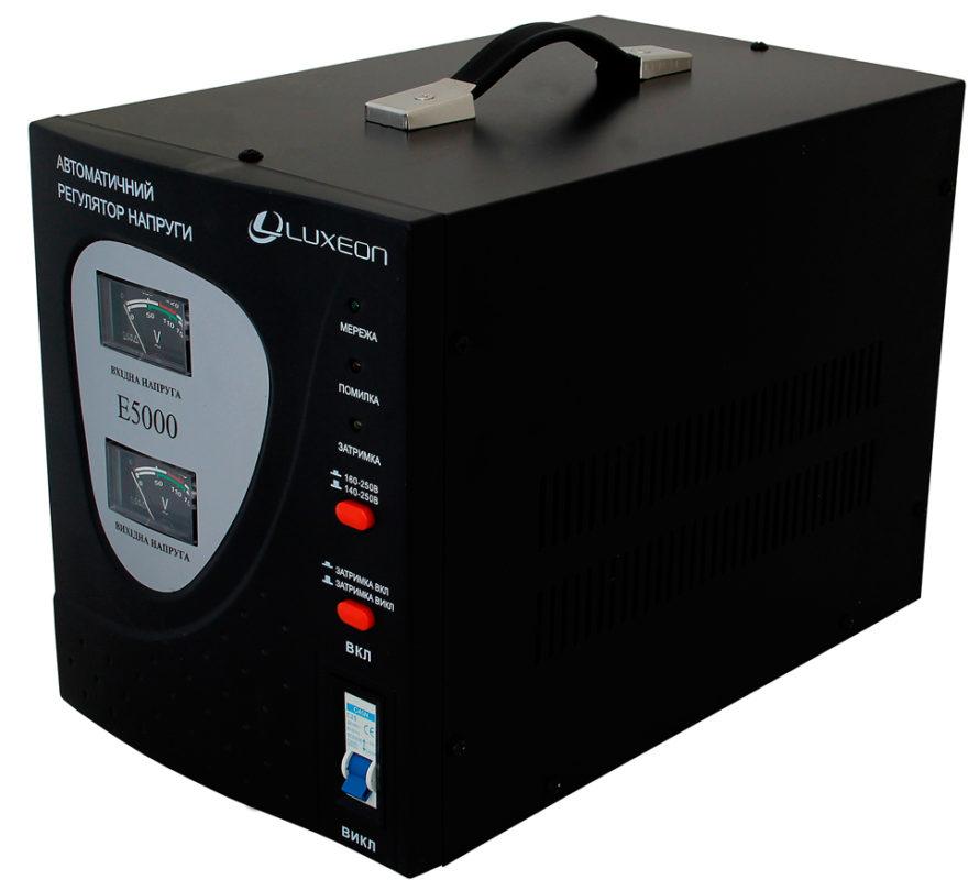Мощный стабилизатор напряжения электрической сети для подключения посудомоечной машины