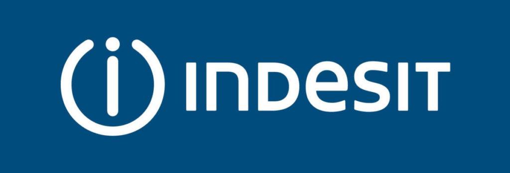 Логотип компании Индезит по производству посудомоечных машин и других бытовых приборов