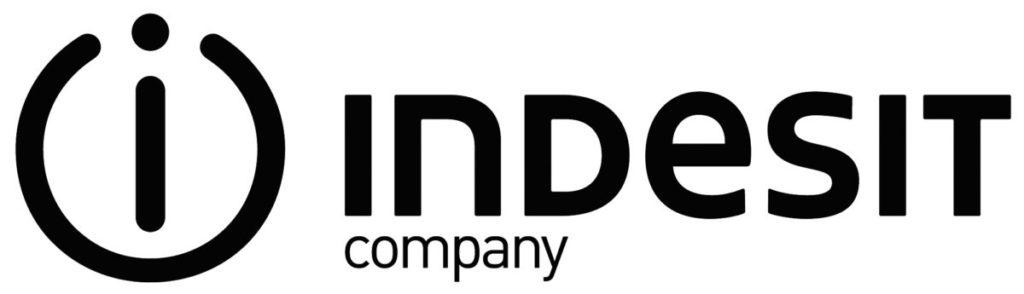 Логотип компании Индезит по производству холодильников и другой бытовой техники