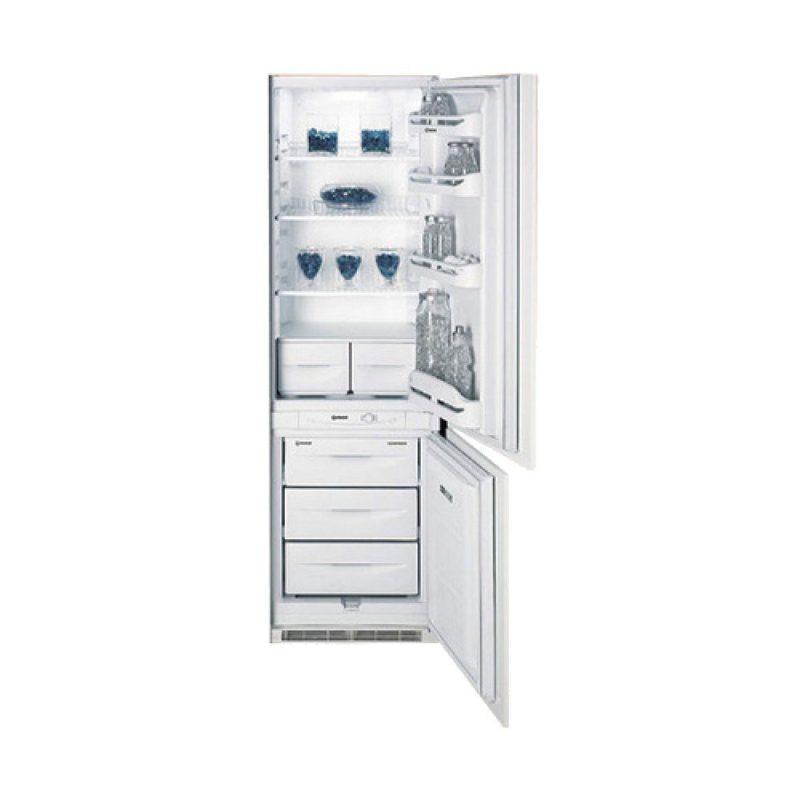 Обзор встраиваемого холодильника IN CB 310 AI D от компании Индезит с нижней морозилкой и фронтальной панелью