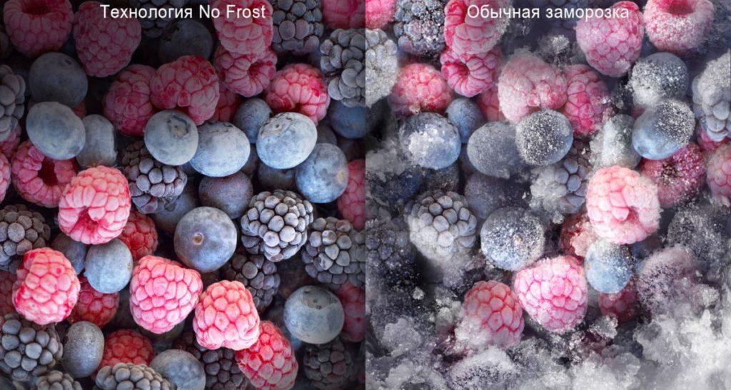 Сравнение двух видов заморозок в холодильниках с системой ноу фрост и без таковой