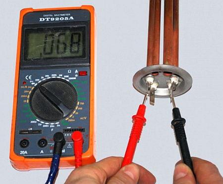 Тестирование мультиметром электрики