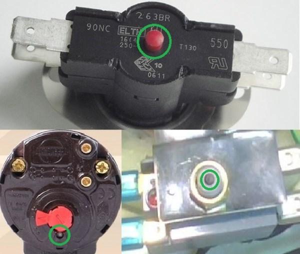 Управление кнопкой предохранителя