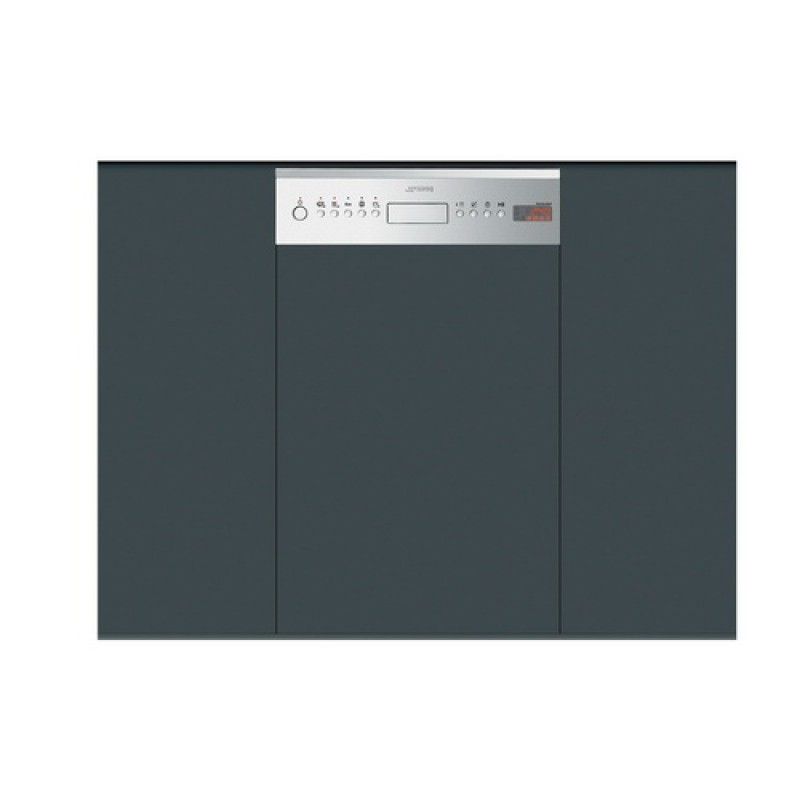 Модель посудомоечной машины Smeg PLA4525X с открытой панелью для встраивания на любой кухне