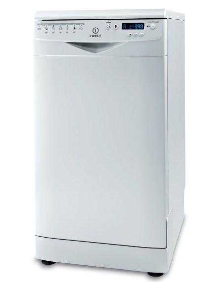 Узкая стационарная модель посудомоечной машины DSR 57M19 A EU от компании Индезит