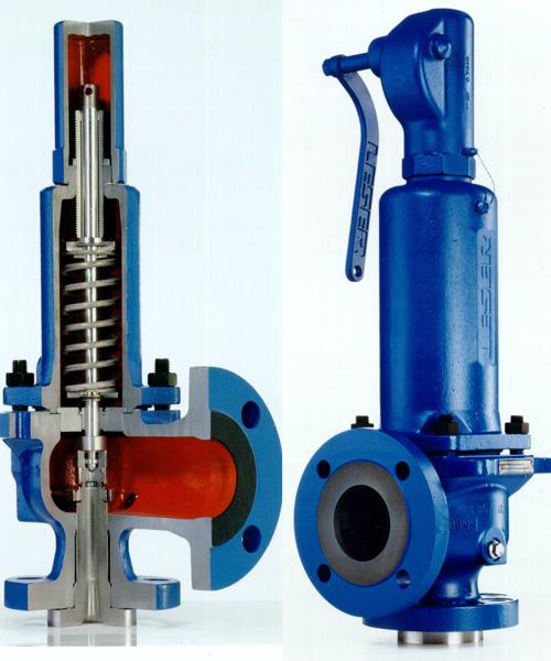Строение предохранительного клапана