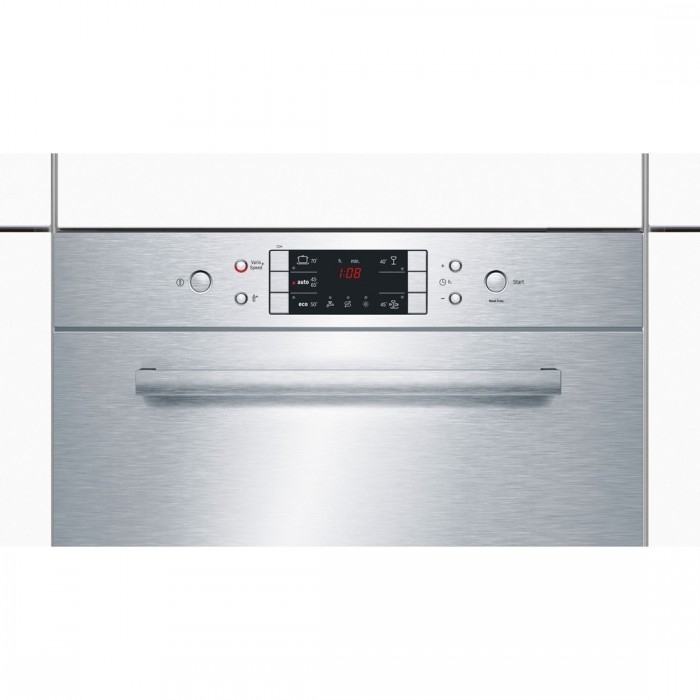 Малогабаритная модель посудомоечной машины Bosch SKE52M55RU с открытой электронной панелью задач
