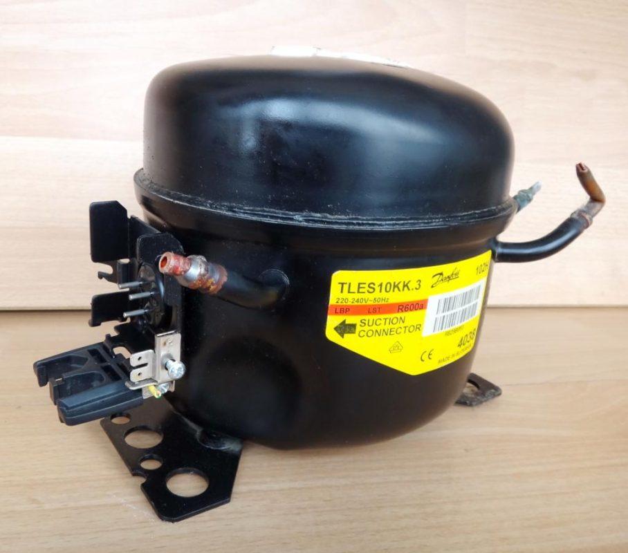 Новый компрессорный мотор для холодильника Индезит в случае необходимости замены при поломке