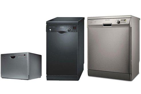 Три варианта отдельностоящих посудомоечных машин разных размеров для кухни с любыми габаритами