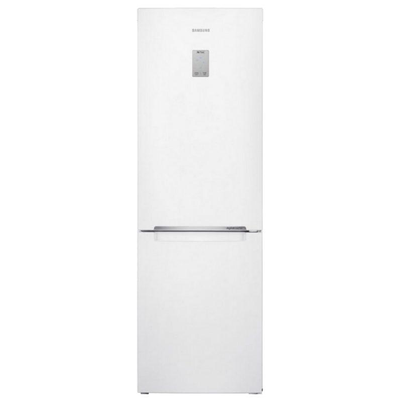 Современный стильный двухкамерный холодильник RB-33 J3400WW от компании Сименс с электронным дисплеем