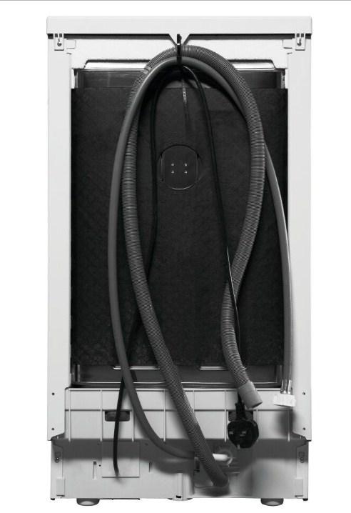 На задней панели посудомоечных машин Индезит DSR 57M19 A EU есть специальные крепления для шлангов