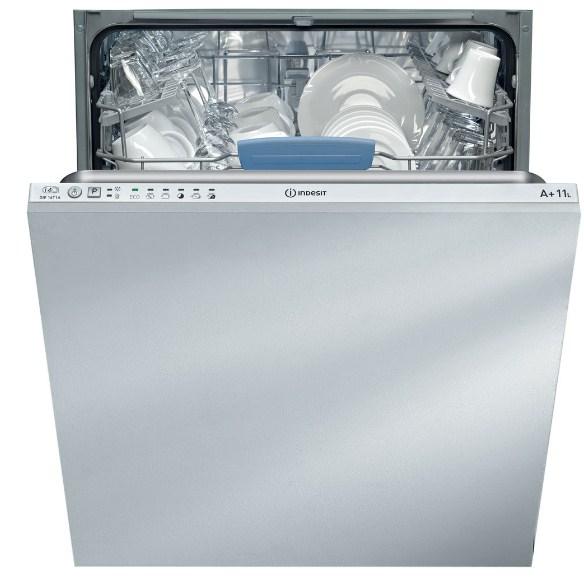Вместительная модель посудомоечной машины DIF 16T1 A от компании Индезит для большой кухни