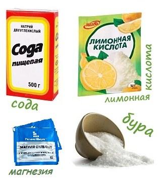 При изготовлении моющей таблетки для посудомоечной машины можно использовать некоторые доступные элементы