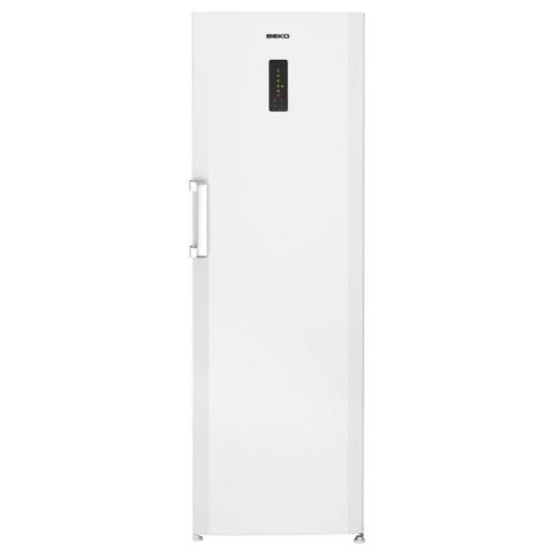 Узкая высокая модель холодильника Беко SN 140220, которая снята с производства руководителями компании