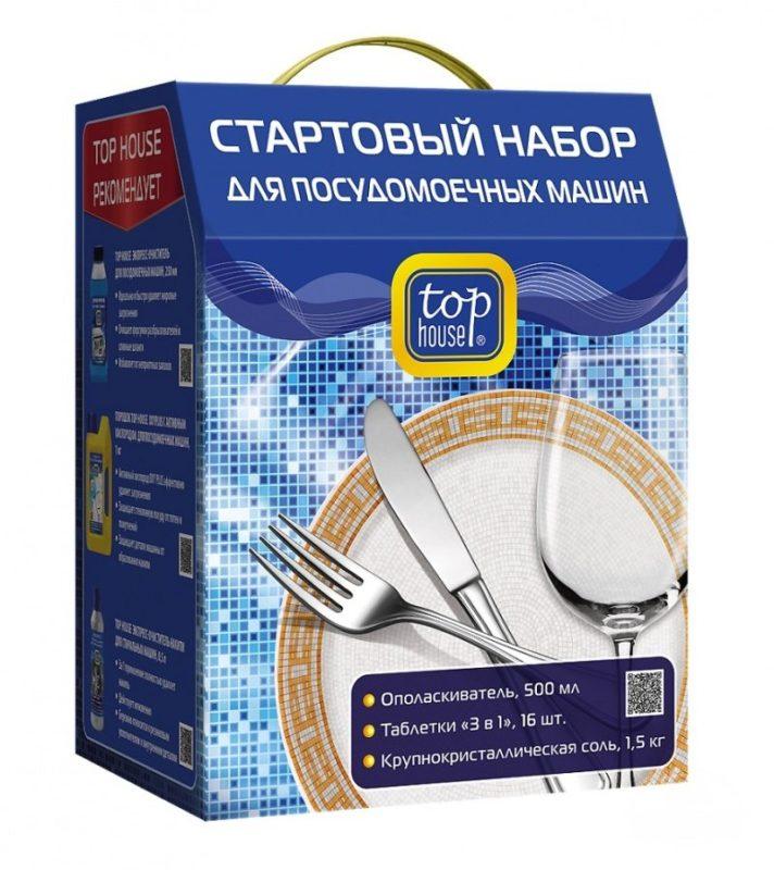 Для правильного и эффективного первого запуска посудомоечной машины используйте стартовый набор