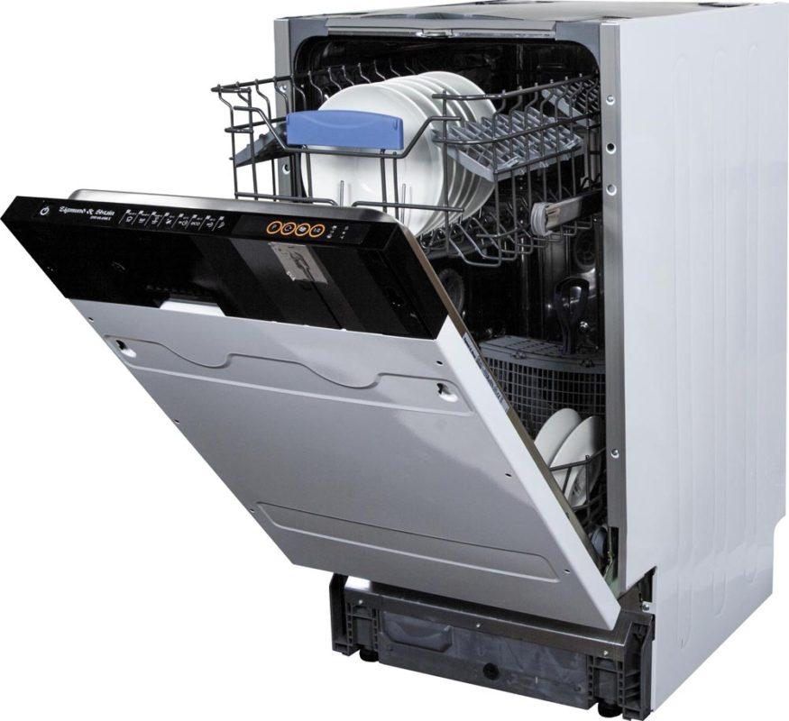 Если дверца посудомоечной машины не фиксируется, причиной может стать поломка блокиратора пружины