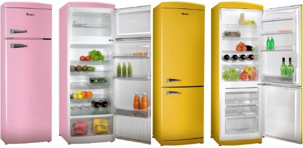 Яркие двухкамерные холодильники производителя Ардо с вариантом расположения морозилки вверху и внизу