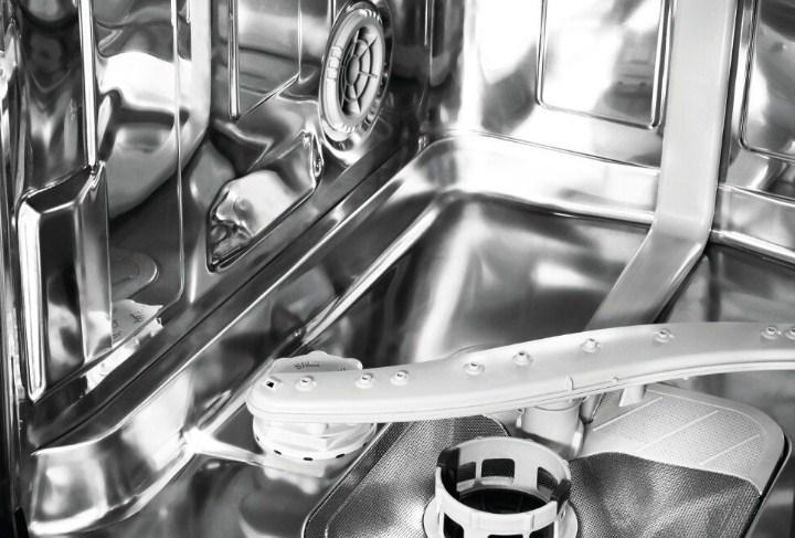 Поддон бункера посудомоечной машины Indesit DISR 16B с тепловентилятором и наличием режима сушки