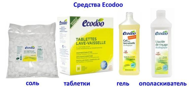 Французская компания Ecodoo выпускает безопасные моющие средства для посудомоечных машин